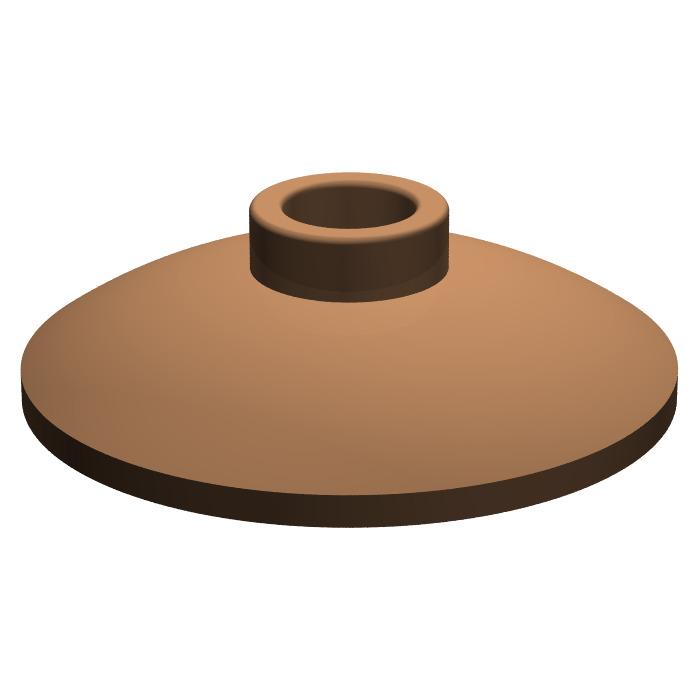 2x Dish disque radar 2x2 beige//tan 4740 NEUF Lego