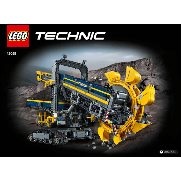 lego bucket wheel excavator set 42055 instructions brick. Black Bedroom Furniture Sets. Home Design Ideas