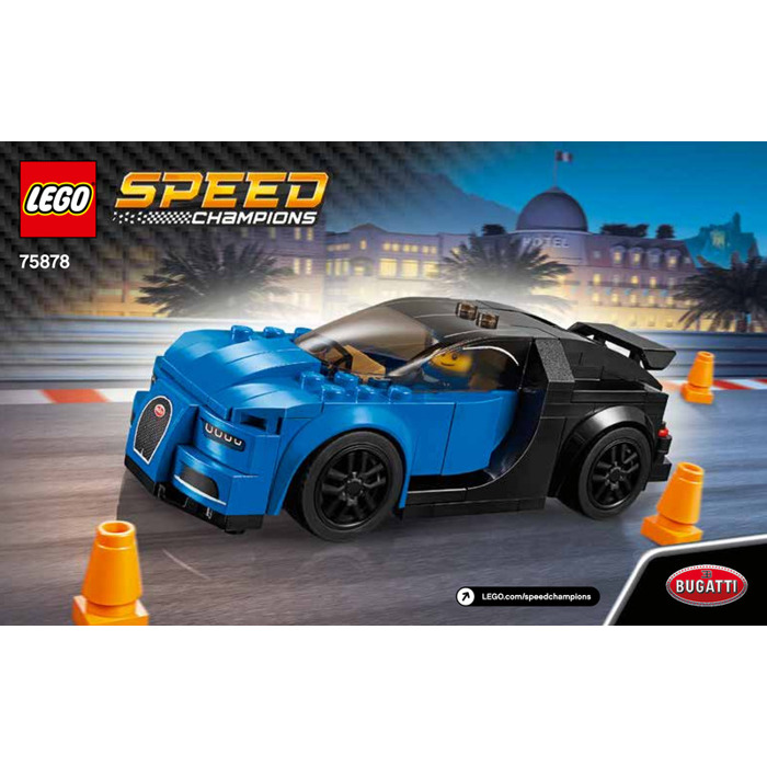 lego bugatti chiron set 75878 instructions brick owl. Black Bedroom Furniture Sets. Home Design Ideas