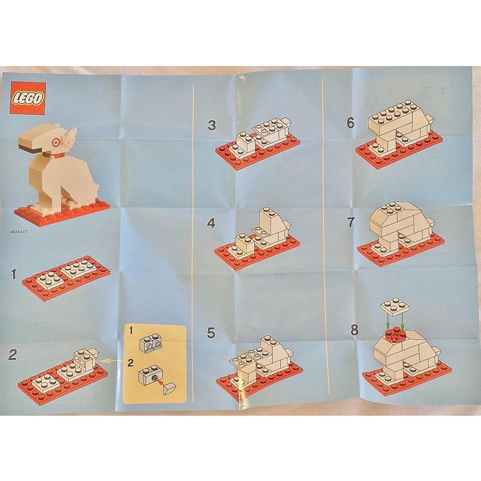 LEGO Build a Bullseye Target Gift Card Set 4613985 Instructions ...