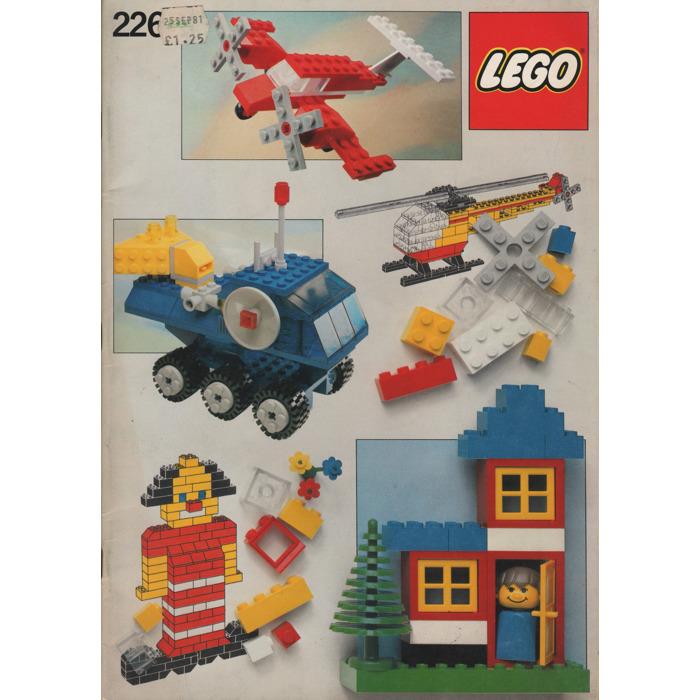 Lego Building Ideas Book Set 226 Instructions Brick Owl Lego