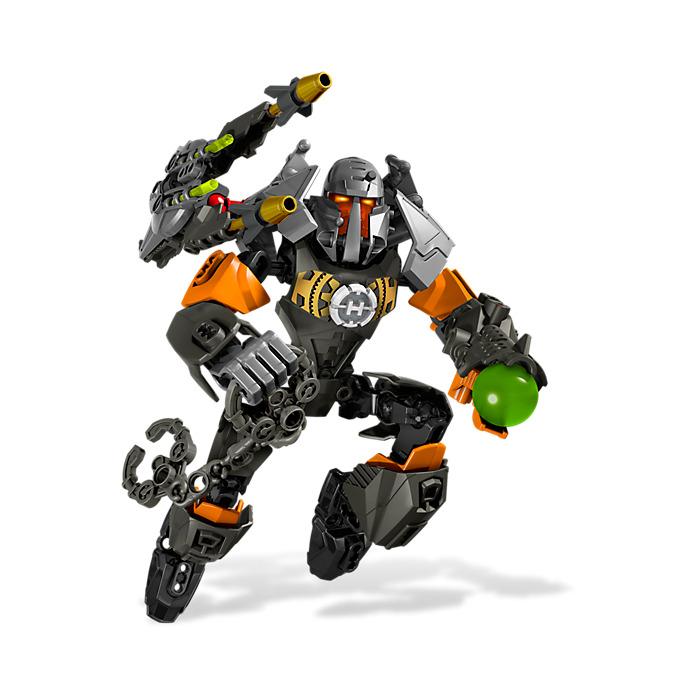 LEGO Parts~ 2 Sz 3 Hero Factory Armor w Ball Joint Socket 90641 WHITE