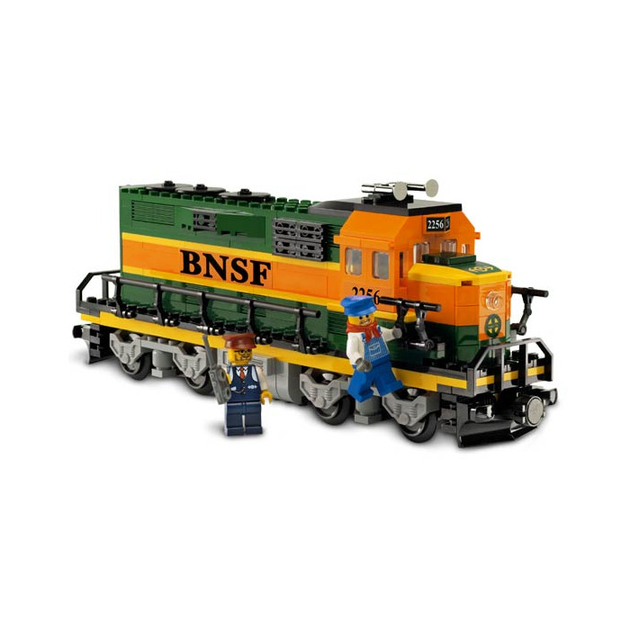 LEGO Burlington Northern Santa Fe (BNSF) Locomotive Set 10133