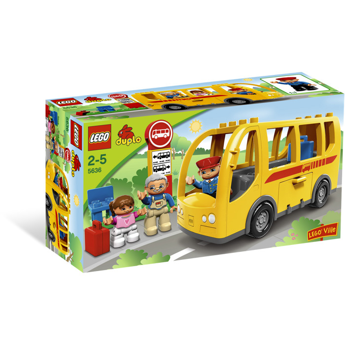 lego bus set 5636 brick owl lego marketplace. Black Bedroom Furniture Sets. Home Design Ideas