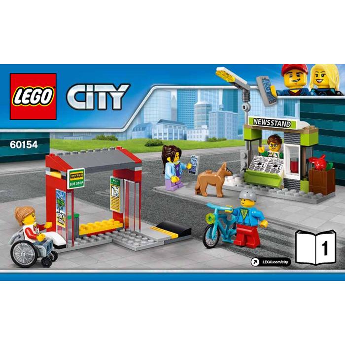 Lego Bus Station Set 60154 Instructions Brick Owl Lego Marketplace