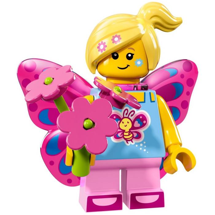 LEGO Butterfly Girl Set 71018-7 | Brick Owl - LEGO Marketplace