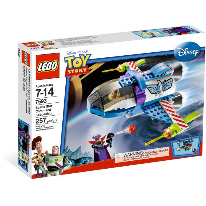 World Of Buzz: LEGO Buzz's Star Command Spaceship Set 7593