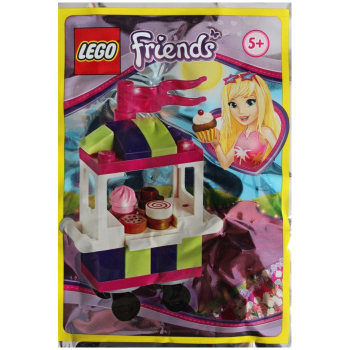 LEGO New Lot of 4 Dark Pink Girls Friends Wavy Flag Pieces