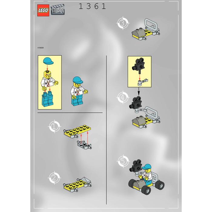 Lego Camera Car Set 1361 Instructions Brick Owl Lego Marketplace