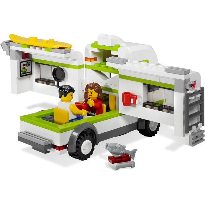 lego city camper 7639 instructions
