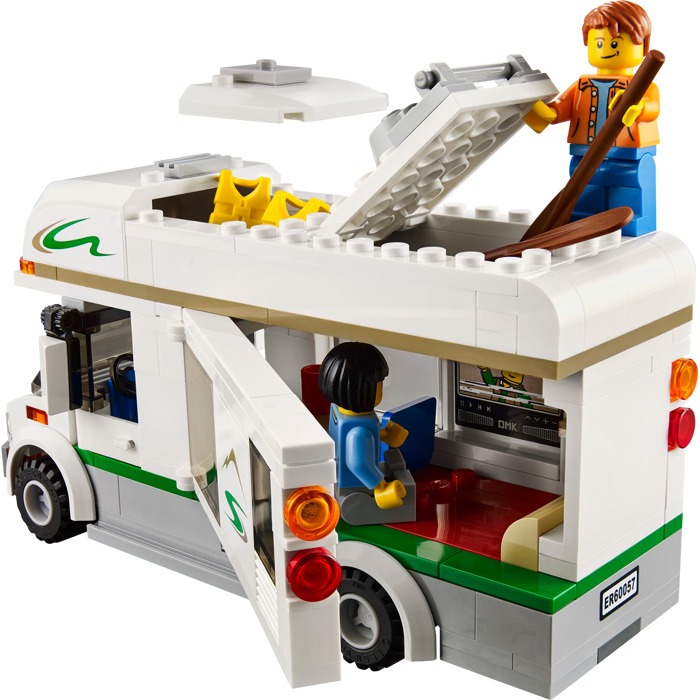 lego camper van set 60057 brick owl lego marketplace. Black Bedroom Furniture Sets. Home Design Ideas