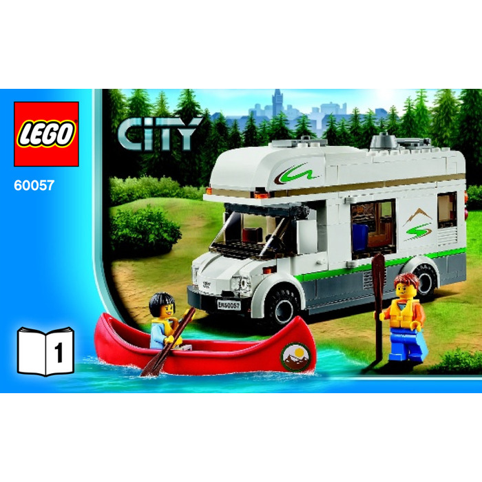 Lego Camper Van Set 60057 Instructions Brick Owl Lego Marketplace