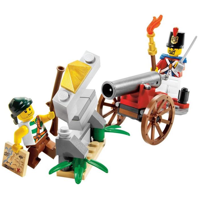 Lego cannon battle set 6239 brick owl lego marketplace for Siege lego france