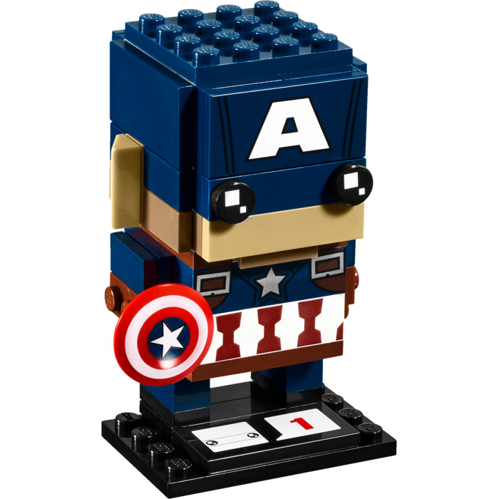 Lego captain america set 41589 brick owl lego marketplace - Lego capitaine america ...