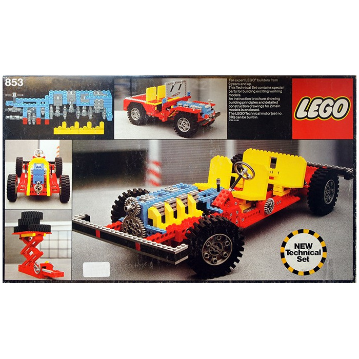 Lego Car Chassis Set 853 Brick Owl Lego Marketplace