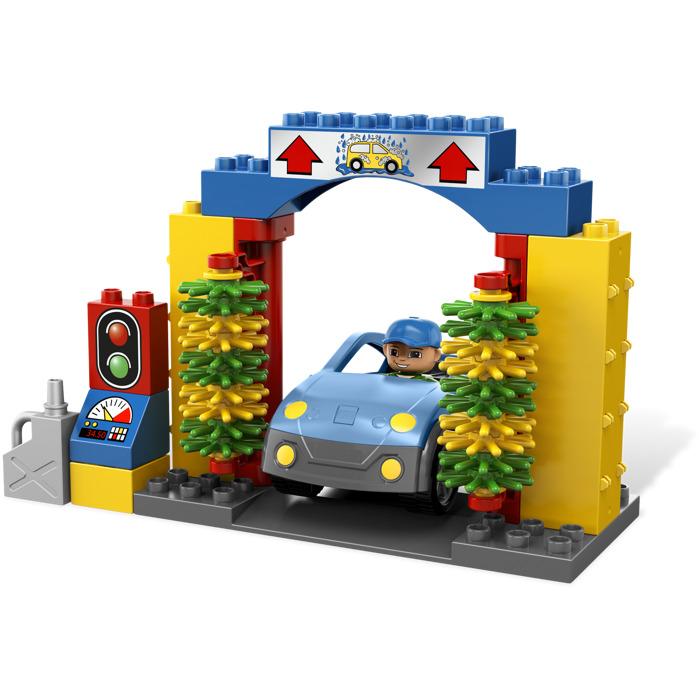 duplo car wash instructions