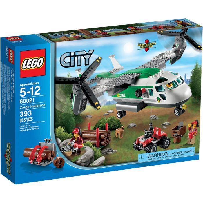 LEGO Cargo Heliplane Set 60021-1 | Brick Owl - LEGO Marketplace