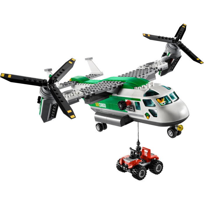 lego cargo helicopter with Lego Cargo Heliplane Set 60021 1 on Twin Rotor Cargo in addition Fishing Boat 60147 together with Police Station 60141 together with Lego Introduces Its First Ever Baby Minifigure besides Nouveautes Lego City Second Semestre 2017 Quelques Visuels Officiels.