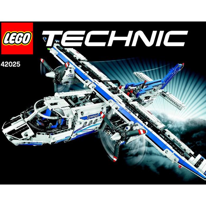 LEGO Cargo plane Set 42025 Instructions | Brick Owl - LEGO Marketplace