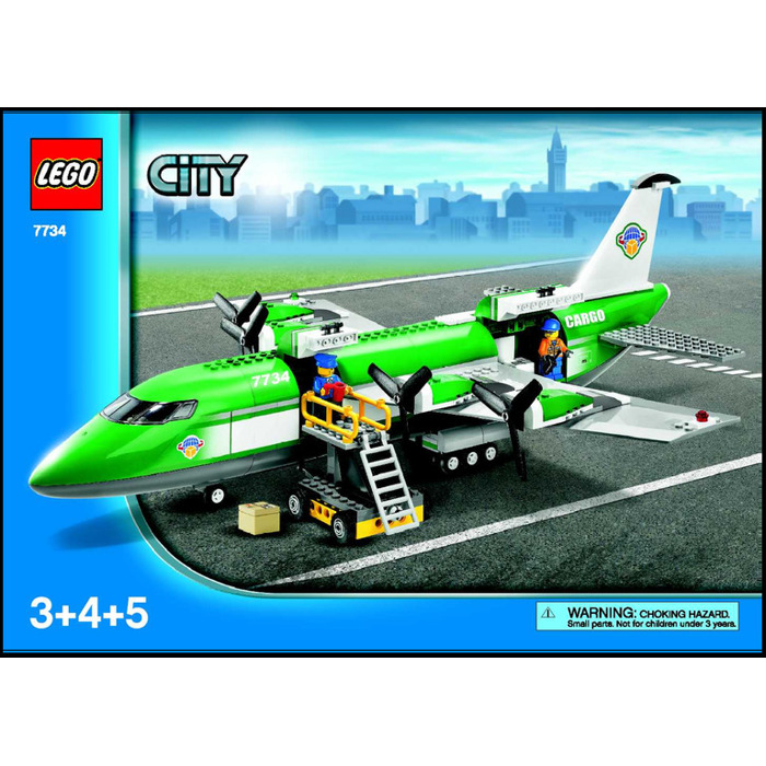 Lego Cargo Plane Set 7734 Instructions Brick Owl Lego Marketplace