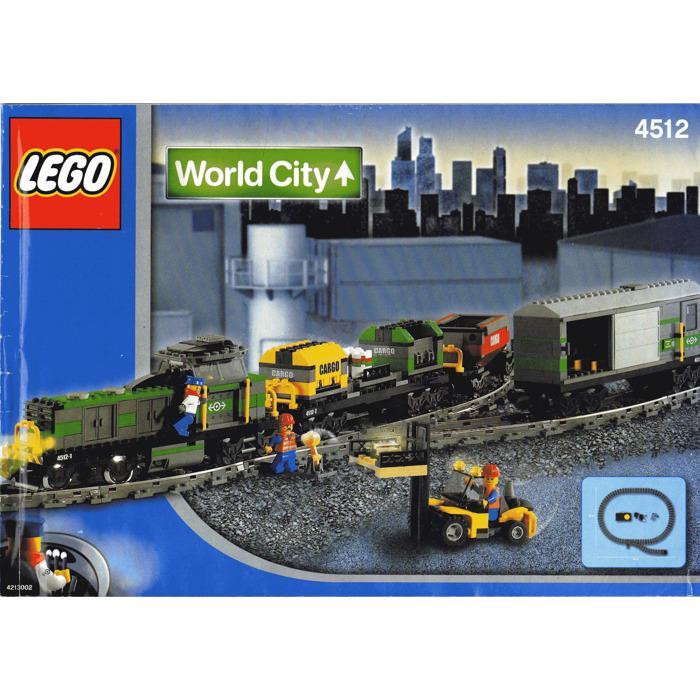 Lego Cargo Train Set 4512 Instructions Brick Owl Lego Marketplace
