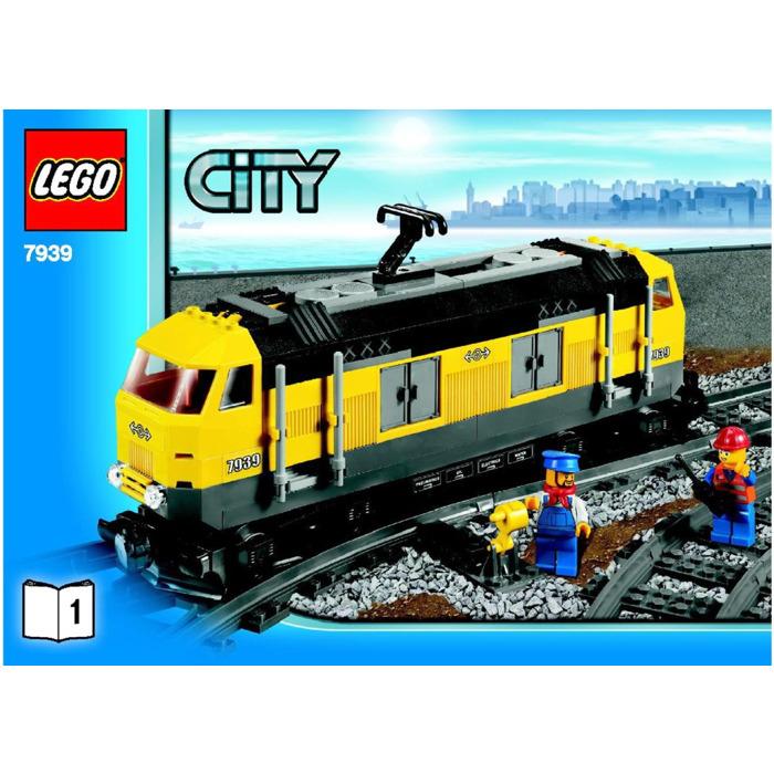 Lego Cargo Train Set 7939 Instructions Brick Owl Lego Marketplace