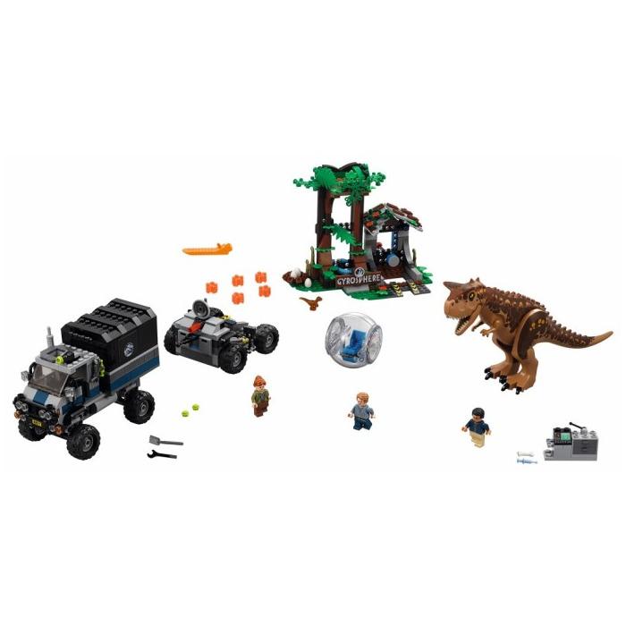 Lego Unveils The Complete Jurassic World Fallen Kingdom: LEGO Carnotaurus Gyrosphere Escape Set 75929
