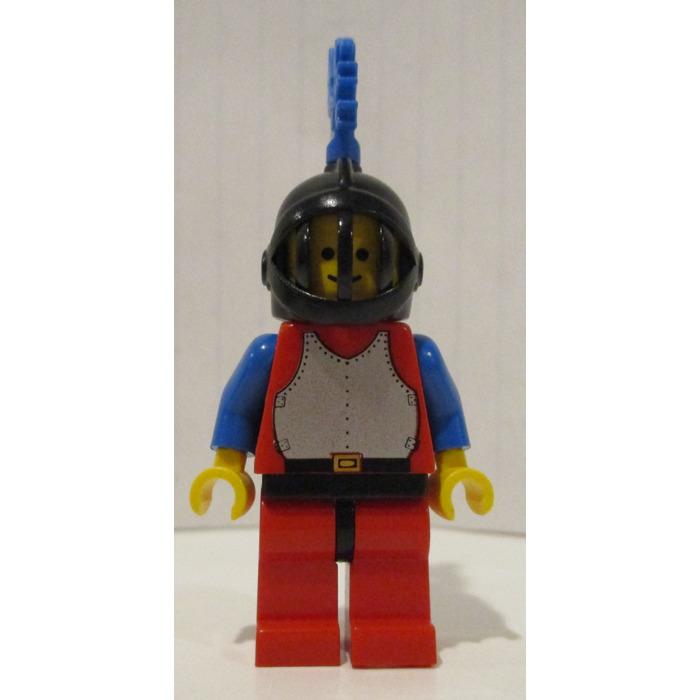 LEGO CASTLE  1 minifig helmet plume Jaune large  4502c //set 6080-6274-6071-6077