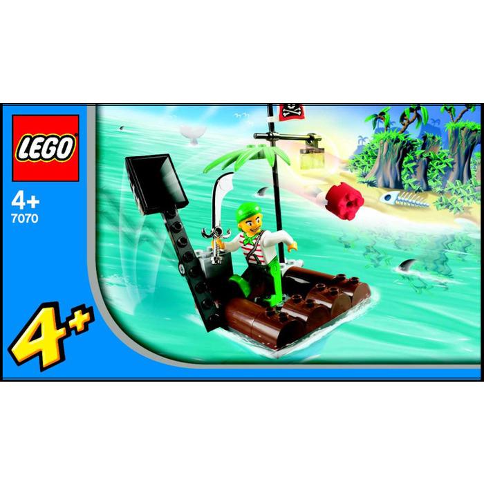 Lego Catapult Raft Set 7070 Instructions Brick Owl Lego Marketplace