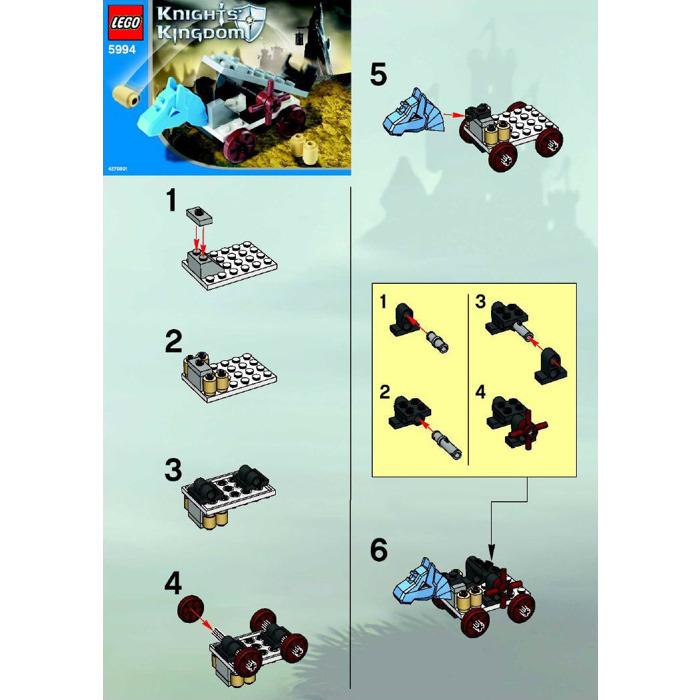 Lego Catapult Set 5994 Instructions Brick Owl Lego Marketplace