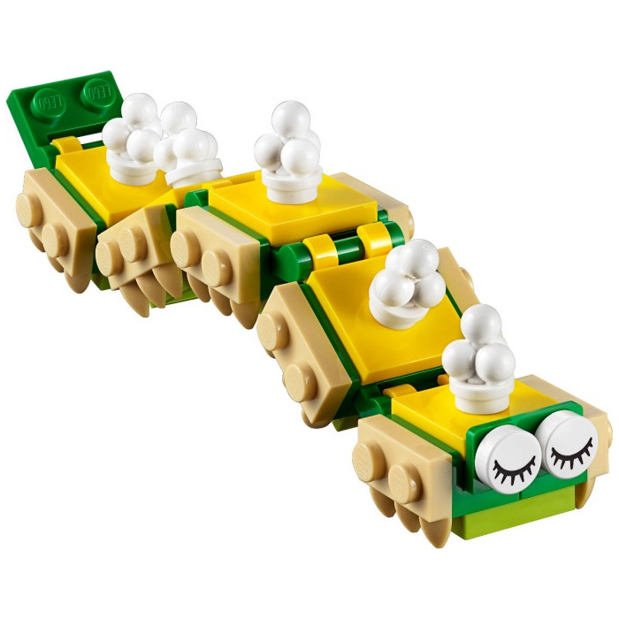 With Clipsopen X Horizontal 2 Plate 1 Yellow 'o' Lego WI29EHYD
