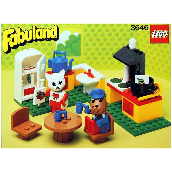 Lego Catherine Cat In Her Kitchen Set 3646 Brick Owl Lego