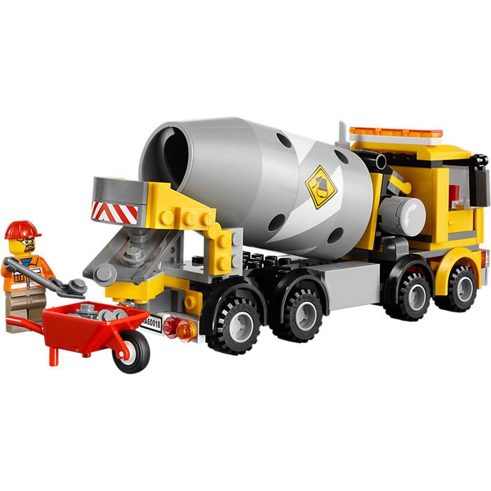 Lego Cement Mixer Set 60018 Brick Owl Lego Marketplace