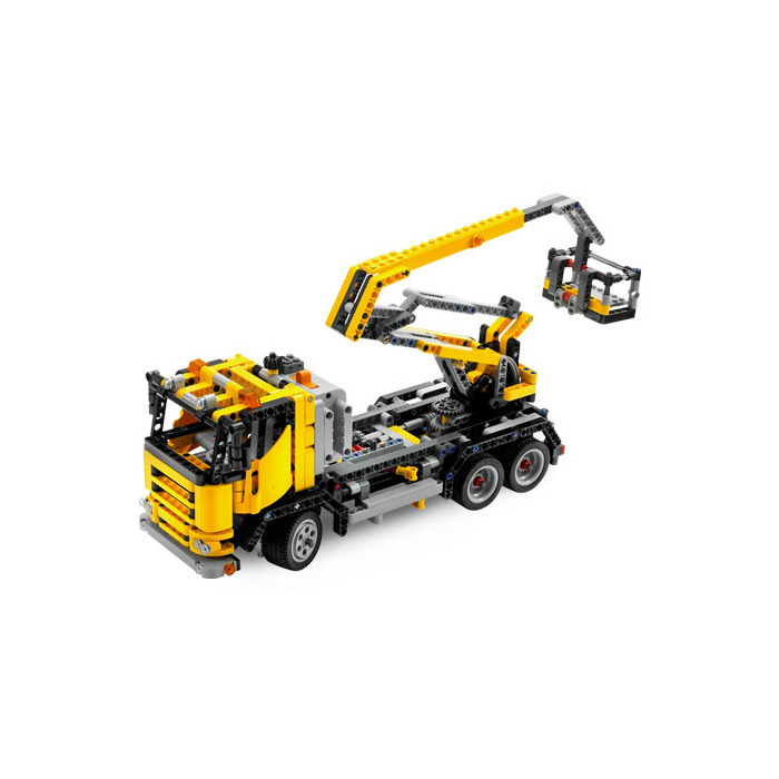 lego cherry picker 8292 brick owl lego march. Black Bedroom Furniture Sets. Home Design Ideas