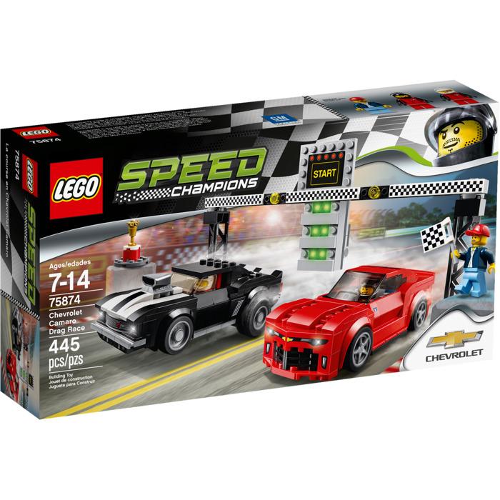 Lego Chevrolet Camaro Drag Race Set 75874 Brick Owl