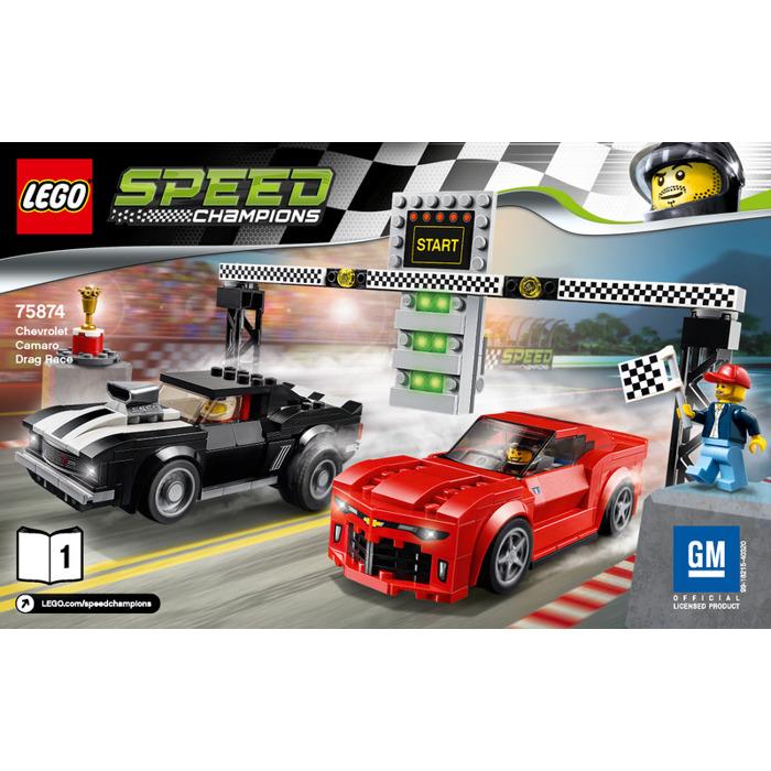 Lego Chevrolet Camaro Drag Race Set 75874 Instructions Brick Owl