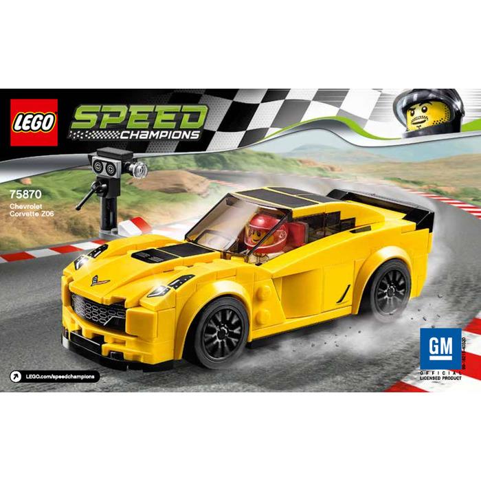 Corvette Z06 Price >> LEGO Chevrolet Corvette Z06 Set 75870 Instructions | Brick Owl - LEGO Marketplace