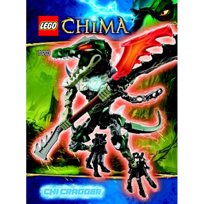 LEGO CHI Cragger Set 70203 Instructions | Brick Owl - LEGO Marketplace