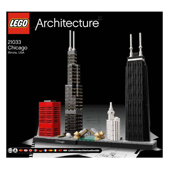 LEGO Chicago Set 21033 Instructions