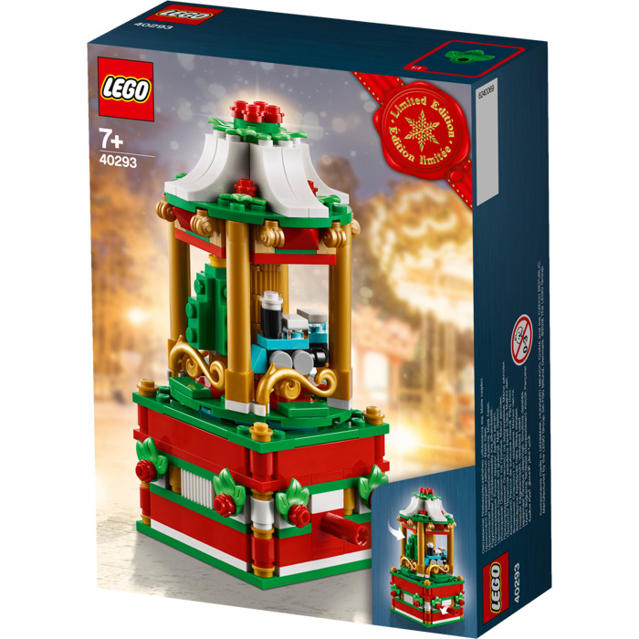 Lego Christmas.Lego Christmas Carousel Set 40293