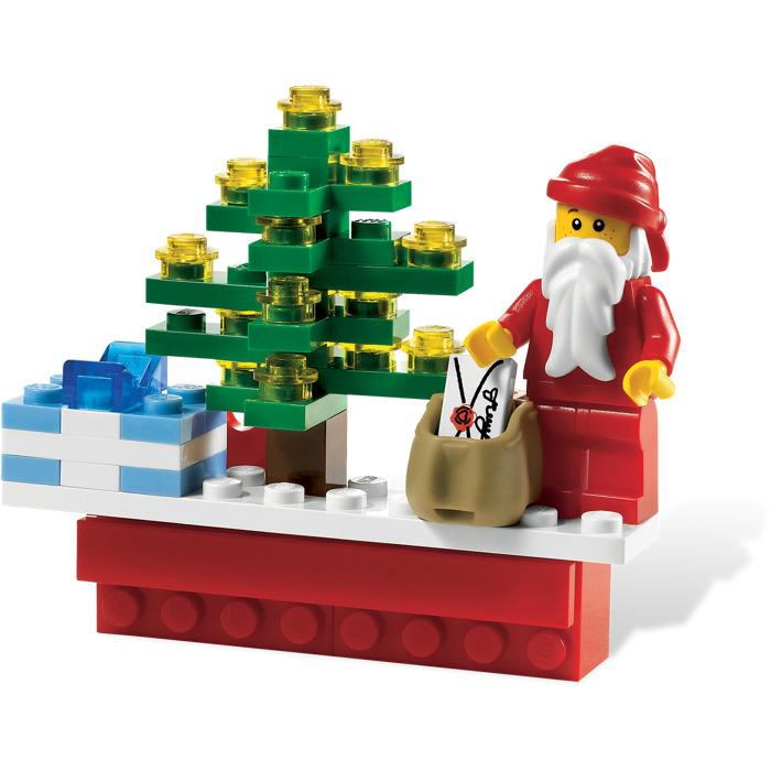 Lego Christmas.Lego Christmas Scene Magnet 853353