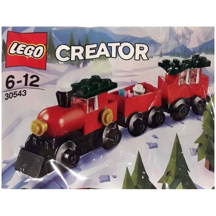 Christmas Train Set.Lego Christmas Train Set 30543
