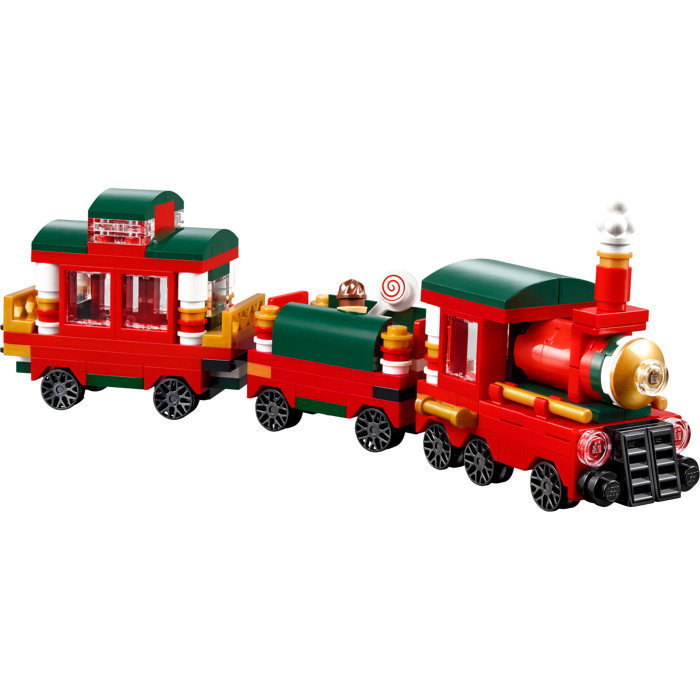 Christmas Train Set.Lego Christmas Train Set 40138