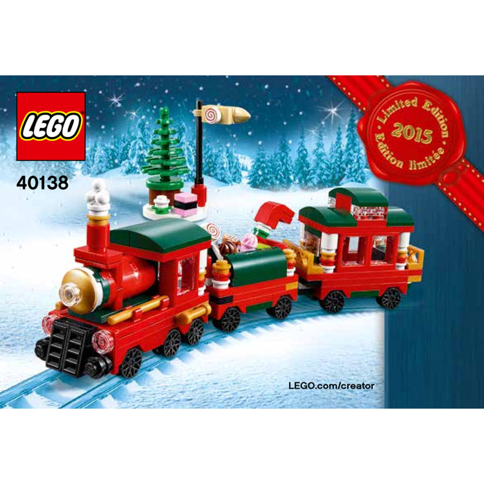 Lego Christmas Train Set 40138 Instructions Brick Owl Lego