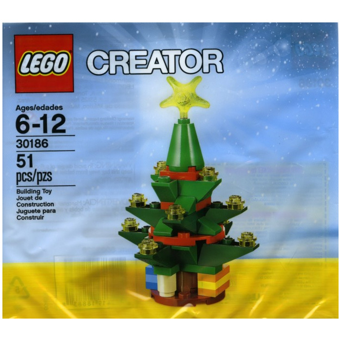 LEGO Christmas Tree Set 30186 Inventory