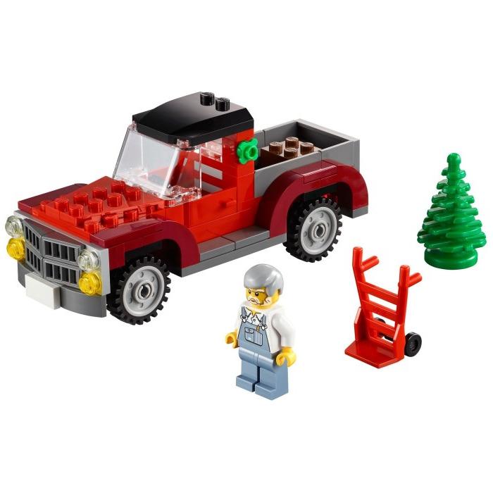 lego christmas tree truck 2013 set 2 40083 brick owl lego marketplace. Black Bedroom Furniture Sets. Home Design Ideas