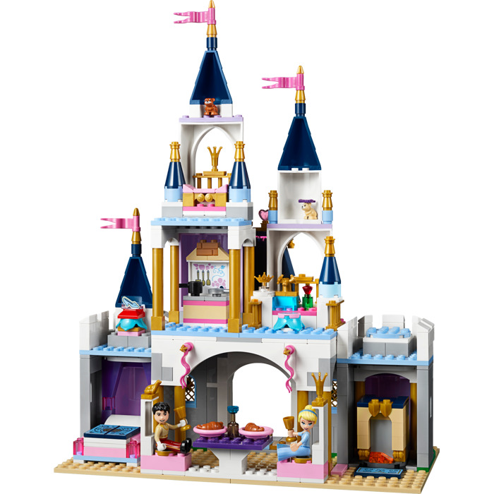lego cinderella castle instructions