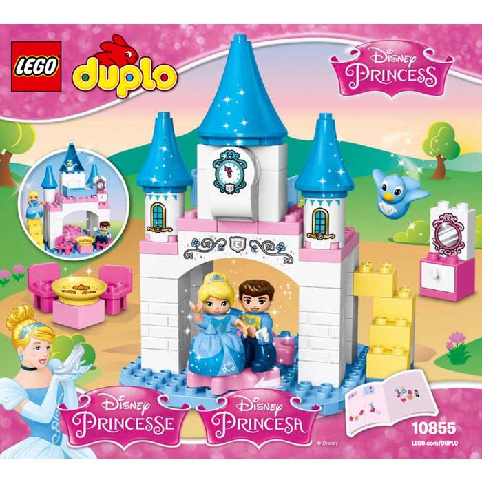disney princess castle instructions