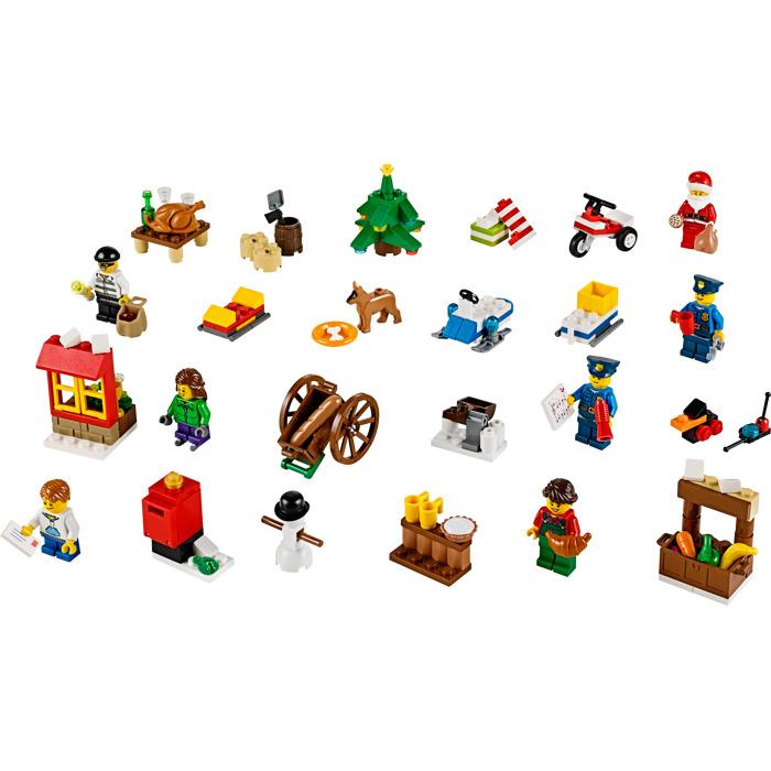 Lego City Advent Calendar Set 60063 Brick Owl Lego Marketplace