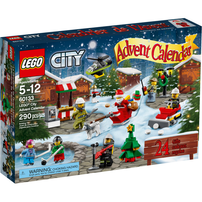 lego city advent calendar set 60133 brick owl lego. Black Bedroom Furniture Sets. Home Design Ideas